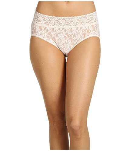 Hanky Panky Women's Signature Lace French Bikini Ivory Bikini MD