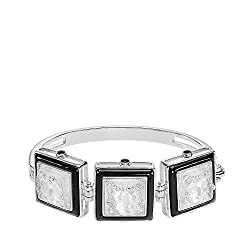 Arethuse Bracelet Clear Crystal and Sterling Silver