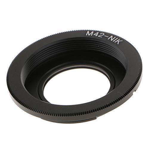 F Fityle Lente de Rosca m42 para para para para Nikon F Adaptador de Cámara d750 d5600 d7000 d7200 d800 con Enfoque de Vidrio al Infinito
