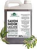Jabón negro líquido natural elaborado 100% con aceite de oliva y aceite de eucalipto - No reseca la piel (1000)