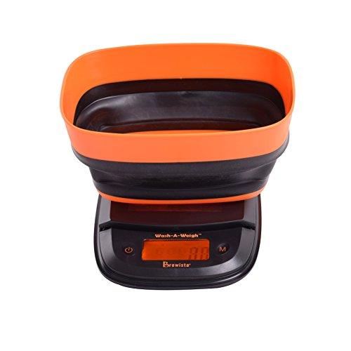 Brewista Flex-a-Bowl Waage, Orange (BSCFB2000)