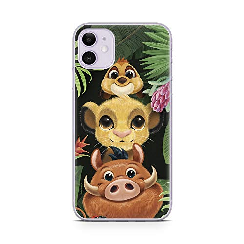 ERT GROUP Disney The Lion King TPU Case for iPhone 11, Liquid Silicone...