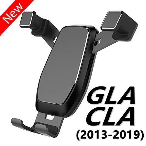 AYADA Handyhalterung für Mercedes CLA C117 und GLA X156, CLA Handyhalterung GLA Handyhalter Upgrade Design Gravity Auto Lock Stabil ohne Jitter CLA Zubehör X156 Zubehör GLA Zubehör Accessories