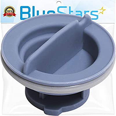 [UPGRADED] Ultra Durable 8558307 Dishwasher Dispenser Cap Replacement Part by Blue Stars – Exact Fit For Whirlpool & Kenmore Dishwashers - Replaces WP8558307 8193984 8539095 PS11746426 AP6013204