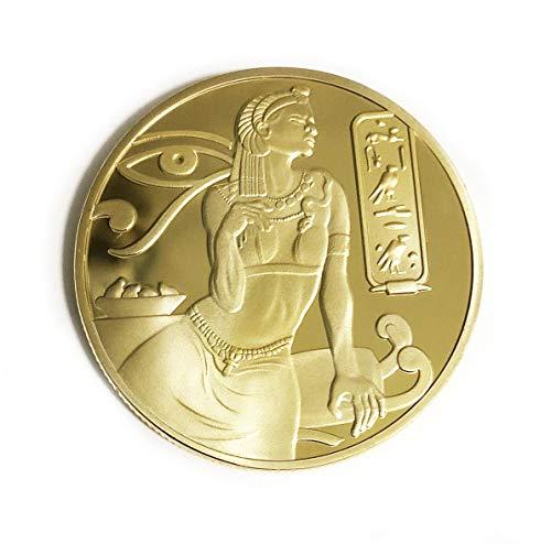 OZUKO Egipcio - Antigua Diosa ISIS Pirámides Moneda Conmemo