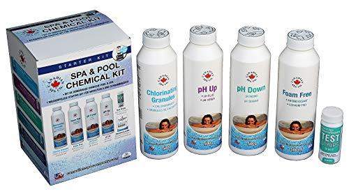 Canadian Spa Whirlpool-Starter-Set – Essential Spa Wasser Chemikalien