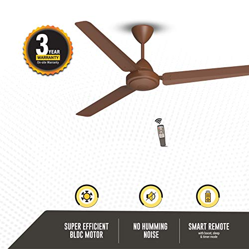 Gorilla Energy Saving Bldc Ceiling Fan With Remote 1400 Mm