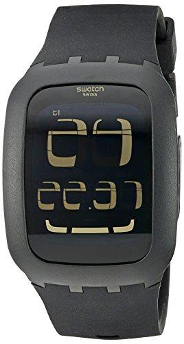 Swatch Touch Unisex Digitaluhr schwarz