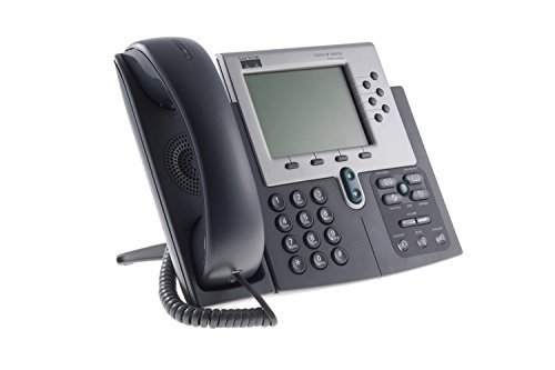 Cisco Systems 7960G Unified VOIP Phone (Requires Cisco CallManager) (Renewed)