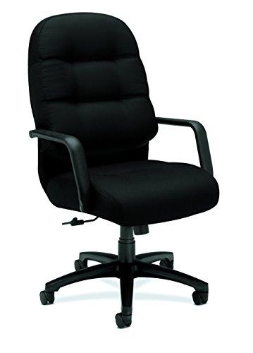 HON Pillow-Soft Chair, Black CU10