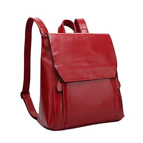 NIYUTA Damen Rucksack Tagesrucksäcke Handtaschen Ledermode Umhängetaschen