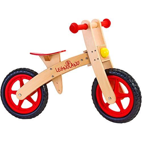 Legnoland - Bicicletta in Legno Ruota Libera senza...