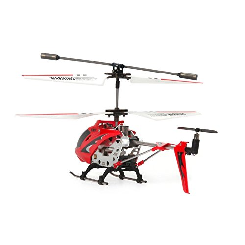 Syma S107G 3.5-Channel RC Helicopter with Gyro (Red)