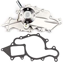 SCITOO AW4095 Water Pump for 95-08 Ford Ranger Mazda B3000 3.0L V6 OHV 12v Water Pump W/Gasket