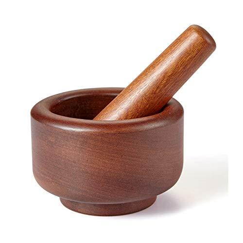 Ensemble de Mortier et Pilon Set de mortier et de pilonage de mortier de broyage à l'ancienne for mélanger des épices, des médicaments naturels, des pâtes, des pestos et du guacamole Pilon et Mortie