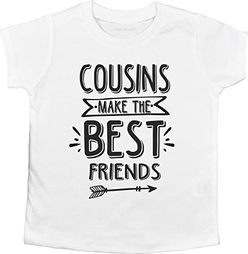 Cousins Make The Best Friends Unisex Baby T-Shirt (12M Short Sleeve Infant T-Shirt)