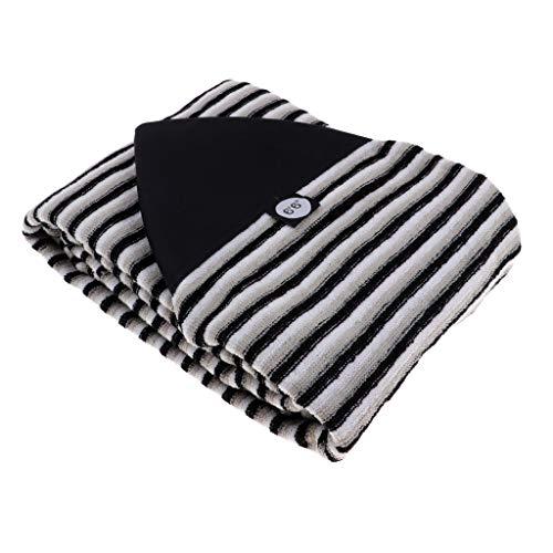 Hellery Funda Protectora para Calcetines de Tabla de Surf Estuche de Almacenamiento con Cordón Y Bolsa Oculta - 7.0 pies