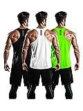 Best Gym Tanks - DRSKIN Men's 3 Pack Dry Fit Y-Back Gym Review