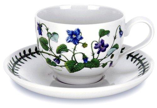 Portmeirion Botanic Garden - Set 6 Tazze da tè con piattino