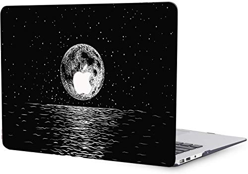 MacBook Air 11 inch Case Release 2010 2011 2012 2013 2014 2015 Release A1370 A1465, Plastic Hard Shell Cover Case Compatible with MacBook Air 11' - Sea and Starry