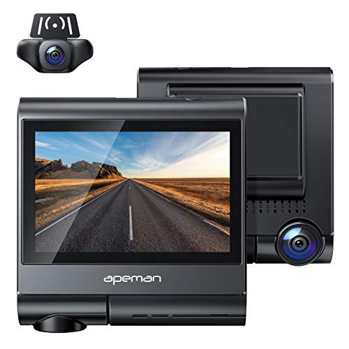 APEMAN 4K Touch Screen Dash Cam