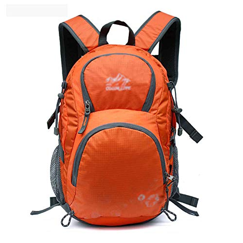JIEXIAO Waterproof Outdoor Hiking Backpack Hiking Camping Rucksack Travel Lightweight Men And Women