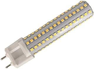 LETELITE Dimmable 15W G12 LED Light Bulbs Lustaled G12 Base Halogen Flood Light 150W Replacement Corn Light Bulb 360 Degree Beam Angle Lamp,Warm White