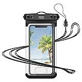 YOSH wasserdichte Handyhülle Beutel mit Touch ID Tauchen Kanu Wassersport für iPhone XS/XS...