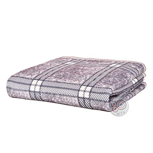 REWD Safe Voltage Single Electric Heated Throw Blanket Mattress Topper with USB Interface Fast Heating Throw Travel Blanket