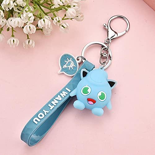 Keychains Pendant Cartoon Lovely Doll KT Cat Keychains Women Girls Charm...