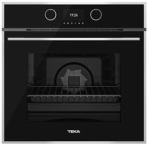 TEKA HLB 860 P Einbau-Backofen mit Pyrolyse, Energieklasse A+, 59,5 cm, 70 l, in Schwarz, mit 4'' digitalem Farb-Display