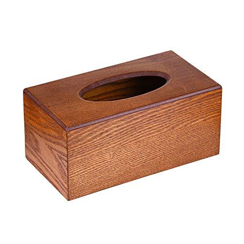 Funie Taschentuchbox/Papiertuchbox/Serviettenhalter im Vintage-Stil, Braun OneSize braun