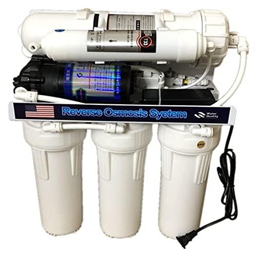 Agua destilada 1 Set 600GPD Sistema de ósmosis inversa Máquina de agua pura Osmosis inversa Piezas de filtro de agua RO Bomba de agua Salina clorinador para el fregadero