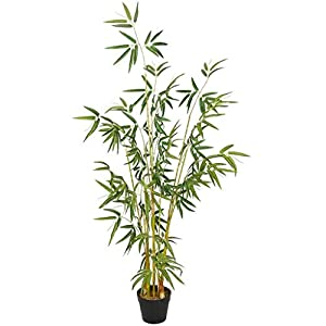 PIVFEDQX Artificial Tree Simulation Tree Simulation Plant Simulation Bamboo Artificial Bamboo Living Room Bedroom Home Decoration Artificial Tree Housewarming Gifts Fake Trees (Size : 150CM)