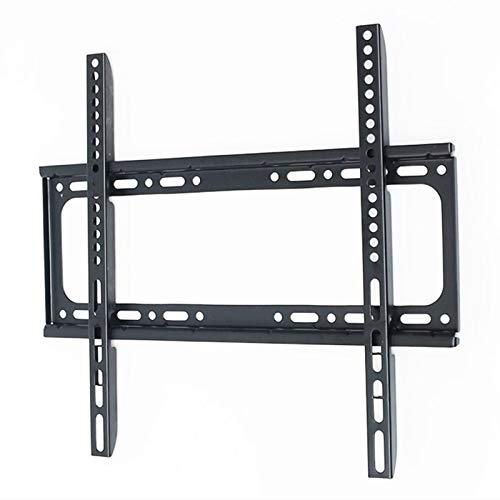 WHZG Soporte TV Montaje de TV fijado para TV LCD de 32-65 Pulgadas, Soporte de Montaje en Pared de TV hasta VESA 400x400mm y Capacidad de Carga 77.2 LBS, Perfil bajo y Ahorro de Espacio Soporte Pared