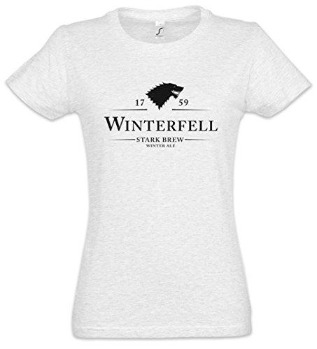 Urban Backwoods Winterfell 1759 Stark Brew Camiseta de Mujer Women T-Shirt
