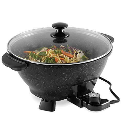 VonShef 7.4Qt Electric Wok with ...
