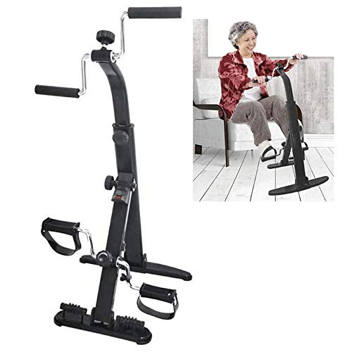 Hometrainer, Portable Pedal Exerciser - Fitnessapparatuur for senioren en ouderen - Pedaal hometrainer, arm en been Exerciser