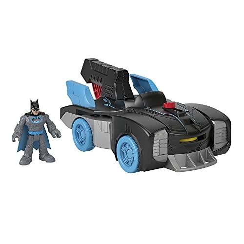 Fisher-Price Imaginext DC Super Friends Bat-Tech Batmobile, vehículo de Empuje...