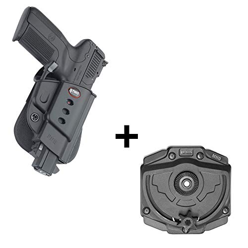 Fobus Rotating roto Tactical Retention Holster + Molle Adapter Attachment for FNH Five-Seven (Doesn't fit The New FN 5.7 MK2) Pistols