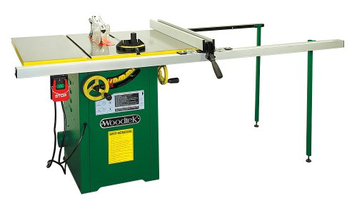 Woodtek 159665, Machinery, Table Saws, 10' Left Tile 2hp Hybrid Table Saw, 52' Fence