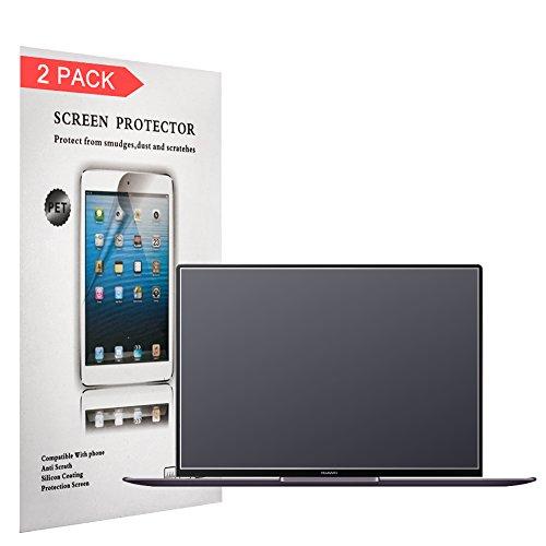 Huawei MateBook X Pro Bildschirmschutzfolie, 13,9 Zoll (35,3 cm), bedeckt das Bildschirm nicht vollständig, blendfrei, matt, Anti-Fingerabdruck, 2 Stück