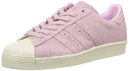 adidas Damen Superstar 80S Hohe Sneaker, Pink (Wonder Pink/Wonder Pink/Off White), 36 EU