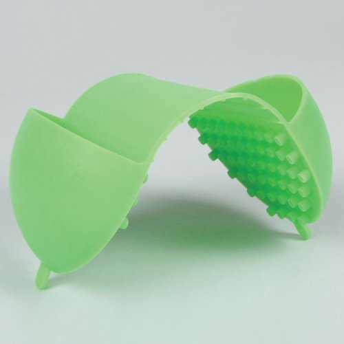 Bel-Art De Originele Hot Hand Protector; Silicone, 10 x 19cm, Lime Groen (F38000-0002)