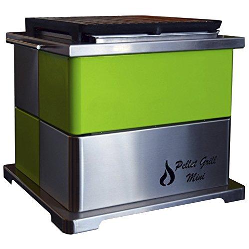 Rustiluz Barbacoa de Pellet Grill Mini Verde