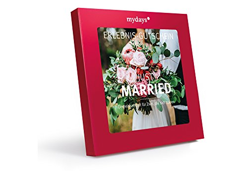 mydays Erlebnis-Gutschein 'Just Married' | 2 Personen, 35 Erlebnisse, 360 Orte | Geschenkidee zur Hochzeit