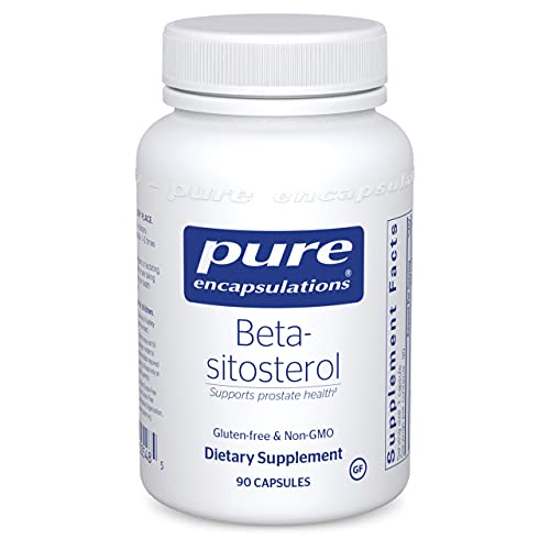 Pure Encapsulations Beta-Sitosterol   Men's Prostate Supplement for Urinary Flow and Health*   90 Capsules