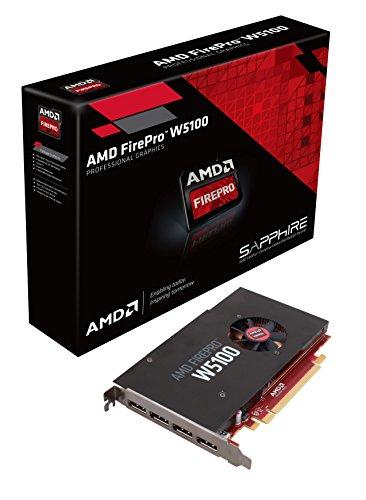 AMD Sapphire FirePro W5100 - Tarjeta gráfica de 4 GB