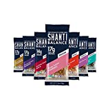 SHANTI BAR | Plant Based Protein | Performance Superfood | Vegan Sport Protein Bar | Paleo, Certified Organic, Low Glycemic, Gluten Free, Raw Healthy Snack with No Refined Sugars | Variety Packs (Best Seller Variety Pack, 7 Count)