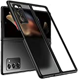 Compatible Model:-This design is compatible for Samsung Galaxy Z Fold 2 5G. Premium Material: The phone case made with tough PC matte back and soft flexible rubber bumper protect your new Phone from daily wear and tear. Adopts premium material making...